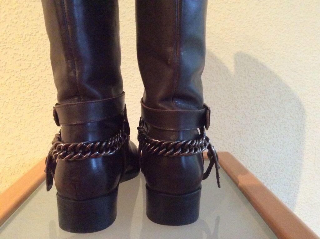 ZARA-Woman Stiefel Gr.38 Top Top Top Zustand 9b592e