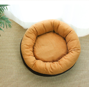 Self-Warming-Cat-Dog-Bed-Cushion-for-Medium-Large-Dogs-Round-Nest-Up-to-88lbs