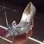 Femmes New Sytle Crystal Chaussures Mariage Cendrillon Filles Princesse Haut Talon TK1JcF3l