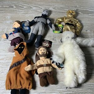Star Wars Buddies Plush Hasbro YOU PICK Yoda Chewbacca Wampa Max Rebo Wicket