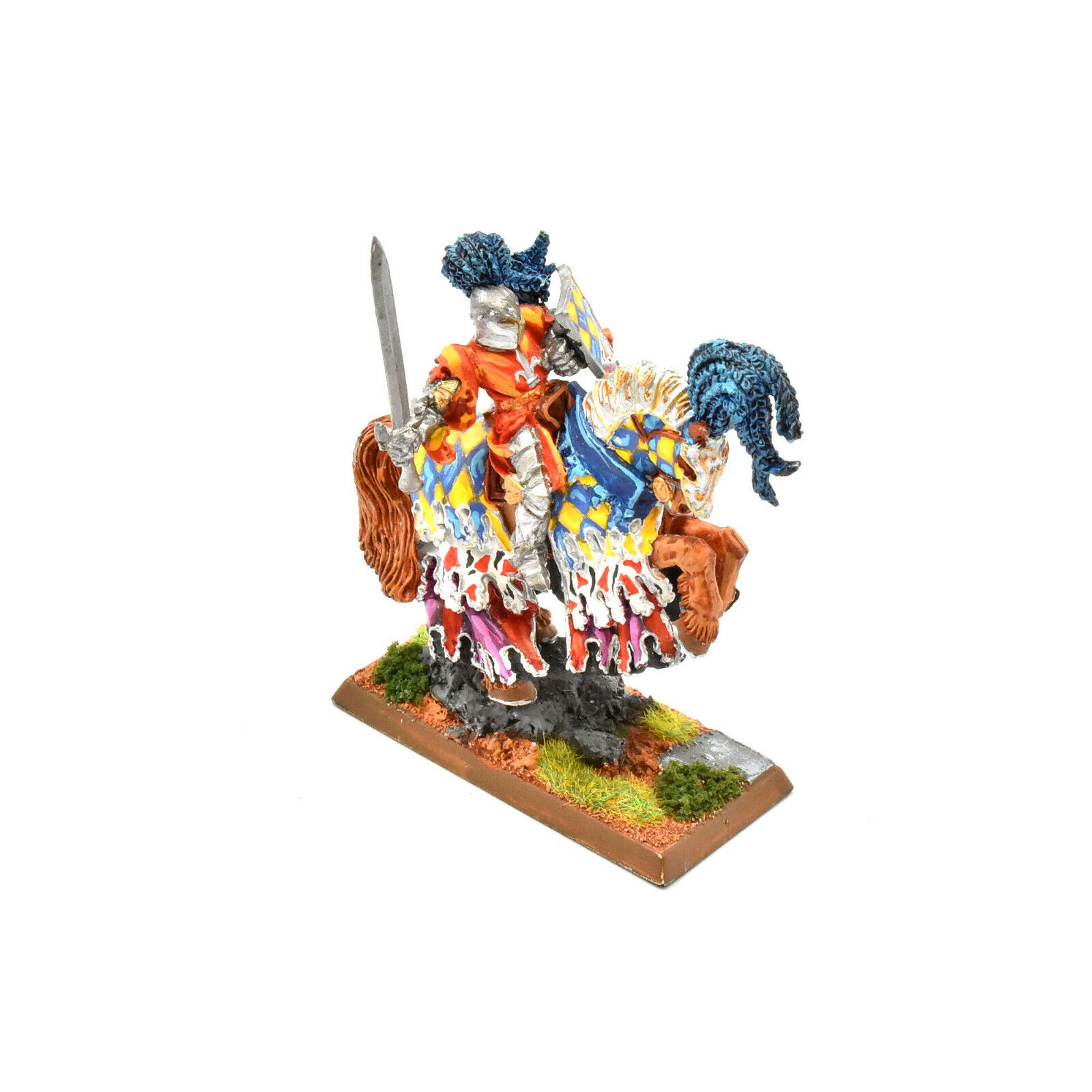 BRETONNIA The vert knight  1 WELL PAINTED Warhammer Fantasy  METAL  magasin en ligne