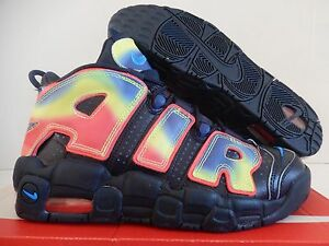 NIKE AIR MORE UPTEMPO QS (GS) HEAT MAP SZ 6.5Y-WOMENS SZ 8 RARE! [847652-400]