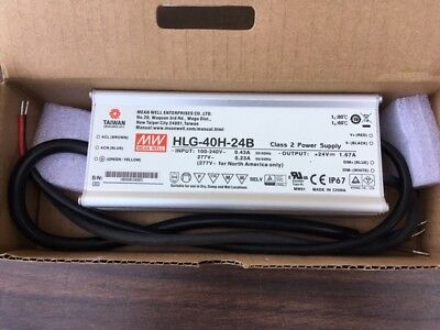 HLG-40H-24B Mean Well Switching Power Supply