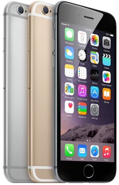 Apple iPhone 6 64GB AT&T Verizon Sprint US Cellular Unlocked Screen Halo