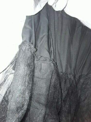 Melissa McCarthy Pleated Full Circle Skirt Black Bird Plus Size 3X 22//24 NWT