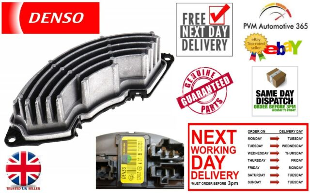 Brand New Denso Heater Fan Resistor for Climate Control Fiat Punto 199 Models
