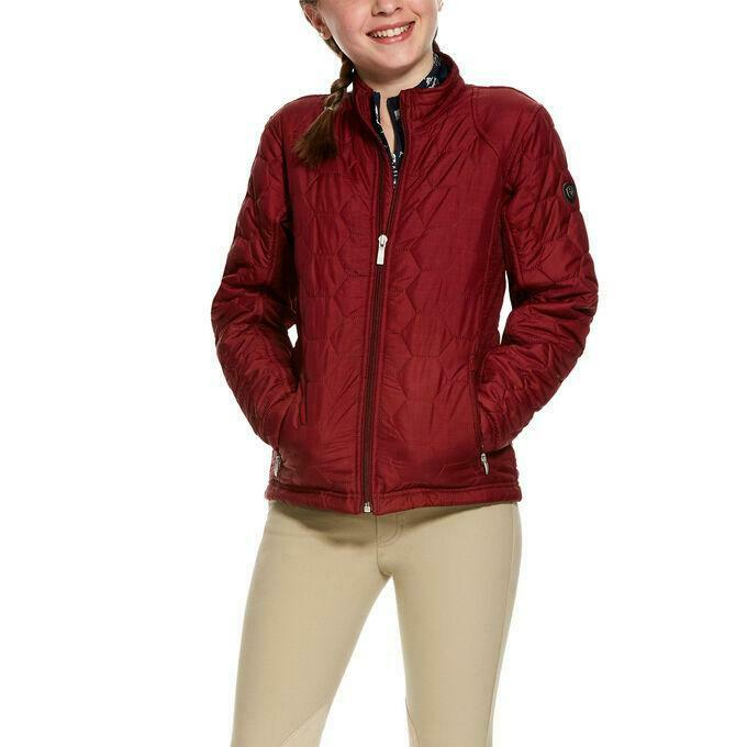Ariat Girls Volt Jacket  Cabernet