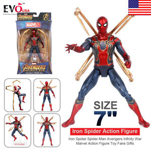 Marvel-Avengers-3-Infinity-War-Iron-Spider-Spider-Man-7-034-Action-Figure-Toy-Gift