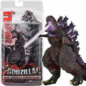 Shin-Godzilla-Atomic-Blast-Movie-7-034-Action-Figure-Toy-Monster-Gojira-Kaiju-Boxed