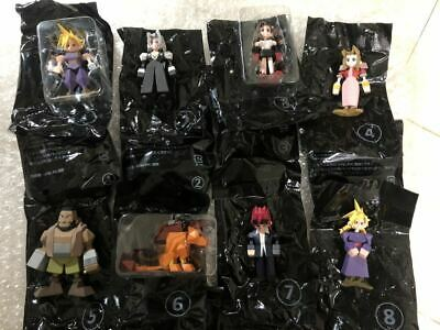 FINAL FANTASY VII 7 REMAKE Memorial Kuji G Mini Figure 8pcs Complete set