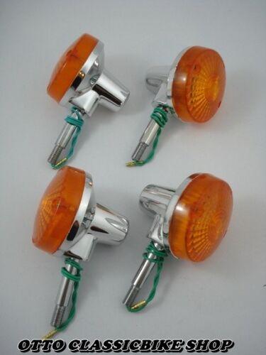 Suzuki TS75 TS90 TS100 TS125 TS185 TS250 TS400 turn signal 4pcs