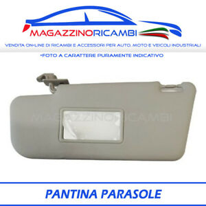 PANTINA-ALETTA-PARASOLE-SINISTRA-FIAT-PANDA-DAL-2003-LATO-GUIDATORE-CON-SPECCHIO