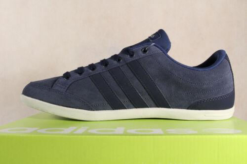 Zapatillas Zapatillas deporte de Azul Nuevo cordones Caflaire Adidas con Cuero bajas x61746q