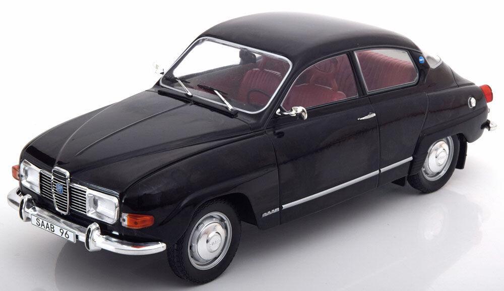 Mcg 1971 Saab 96 V4 Schwarz Farbe 1 18 Maßstab Neue Auflage