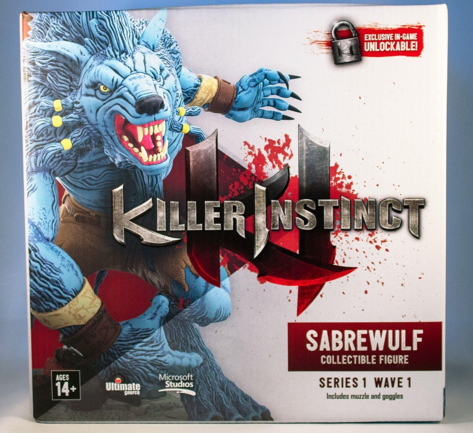 Ultimate Source Killer Instinct 6 Inch Figure Saberwulf For Sale
