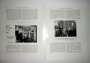 MSS-RECORDING-CO-LTD-THE-GREEN-KEW-SURREY-Home-Recording-Gramophone-1940-Article