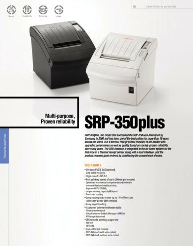 Bixolon SRP-350Plus USB Thermo Bondrucker,komp SRP-350+ zu TMT-88V 0,9Sek//Bon