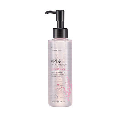[The FACE Shop] Rice Water Bright Cleansing Light Oil 150ml