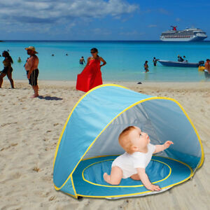 Image Is Loading Us Infant Uv Protection Baby Beach Tent Pop