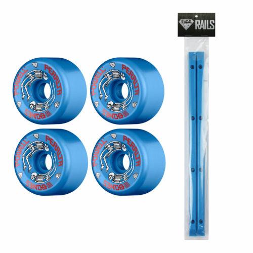 Powell Peralta G-Bones Old School Wheels Blue 64mm With Black Diamond Rails