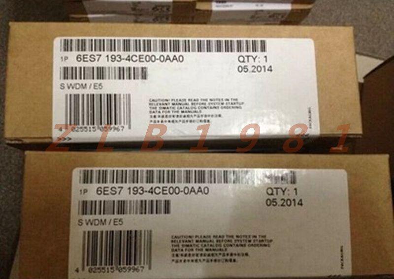 ONE NEW- Sealed Siemens 6ES7193-4CE00-0AA0