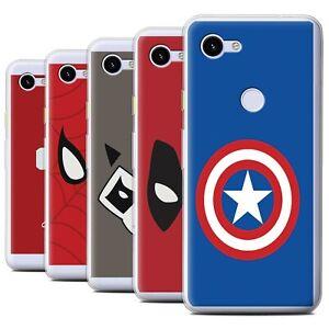 Gel-TPU-Case-for-Google-Pixel-3a-Super-Hero-Comic-Art