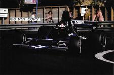 9x6 Photograph, Jackie Oliver  F1 Shadow DN1 , Spanish GP Montjuich Park 1973