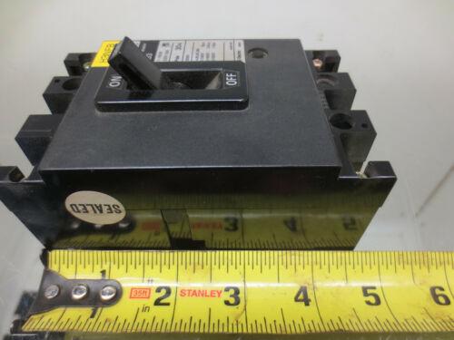 600V 3 POLE FUJI ELECTRIC SA33 AUTO CIRCUIT BREAKER 30AMP