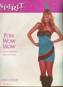 Womens-Pow-Wow-Native-American-Indian-Adult-2-Pc-Sexy-Costume-Halloween
