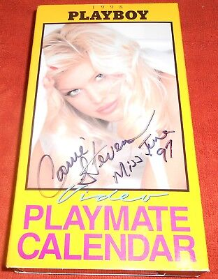Playboy 1998 Playmate Video Calendar Signed By Miss June 1997