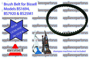 Bissell-Shampoo-Vac-Brush-Belt-0150621-suits-1623F-1694F-NEW-GENUINE-IN-STOCK