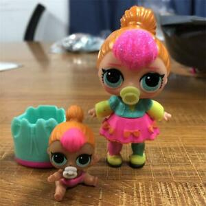 Lot-2pcs-LOL-SURPRISE-LETS-BE-FRIENDS-NEON-QT-Family-SERIES-2-WAVE-1-Doll-Toy