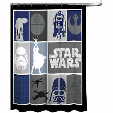 Star Wars Classic Collage Shower Curtain Multi-Color