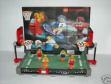 "LEGO SPORTS ~ BASKETBALL ~ SET 3431-1 ~ ""Streetball 2 vs 2"" (Complete Set) ~ Lot"