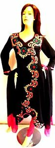 Shalwar-kameez-black-eid-pakistani-designer-salwar-sari-abaya-hijab-suit-uk-8