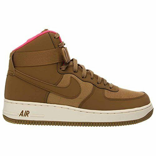 Nike Air Force 1 High '07 Mens Basketball Shoes Golden Tan Golden Tan -Pink S11 Casual wild
