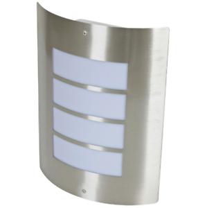 NEU-Wandleuchte-Aussenleuchte-Aussenlampe-Hoflampe-Hauslampe-Edelstahl-IP44