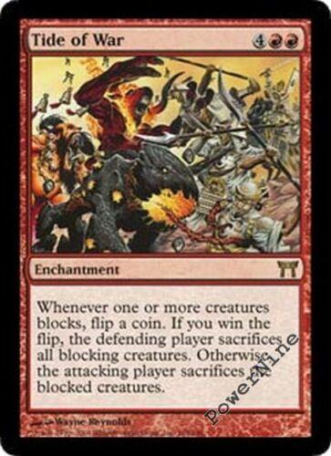 Red Champions of Kamigawa Mtg Magic Rare 1x x1 1 FOIL Tide of War