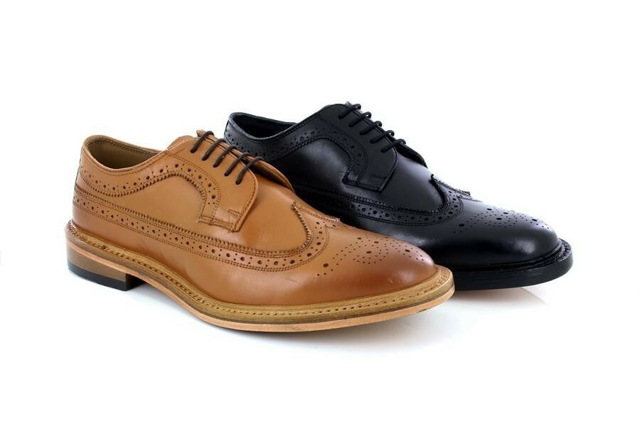 Kensington M930 Classic Leather Executive Formal Brogue shoes