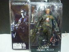 Terminator 2 T-800 Schwarzenegger Battle-Damaged Figure Statue 3D Model