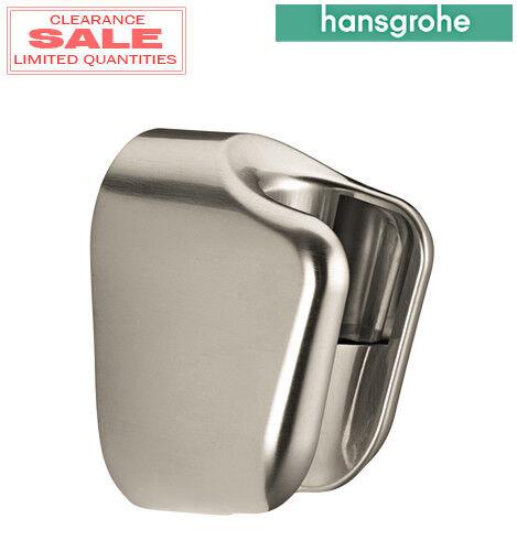 Brushed Nickel Hansgrohe 28321823 Handshower Holder E