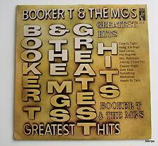 LP:Booker T & The MGS-Greatest Hits **orig.Stax STX 1017 Gr.Britain Erstpressung