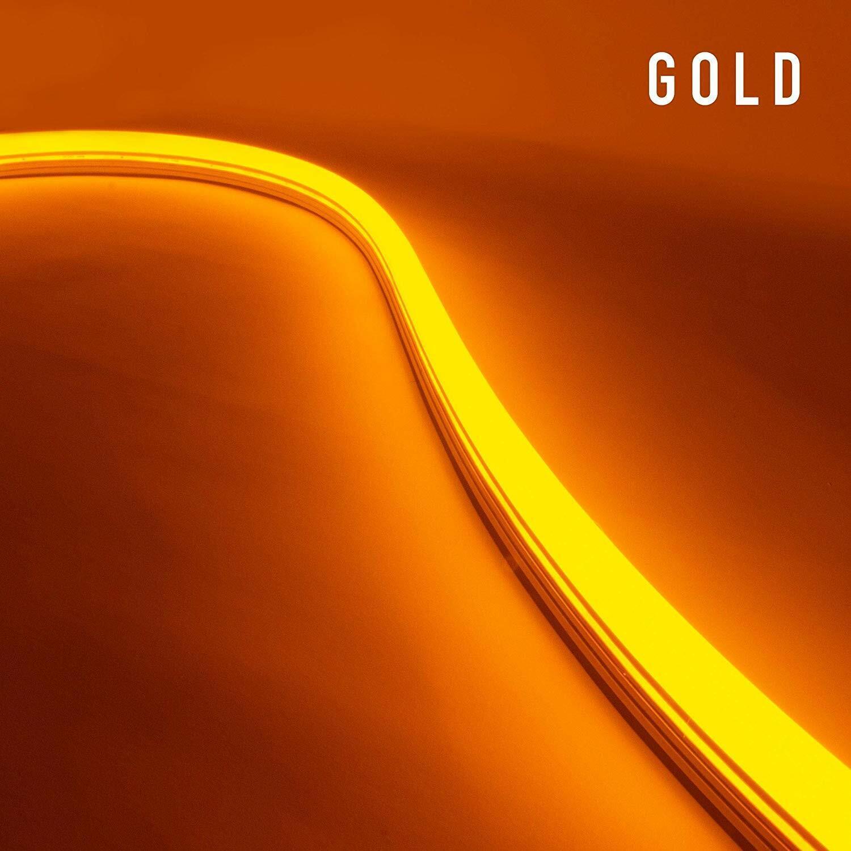 Diodo Led Neon Neon Blaze Luz Led Lineal 24v 16.4ft oro 4.4w ft emisores de lado