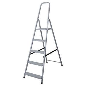 Image Is Loading Abbey Steel Platform Step Ladders 2 8 Tread