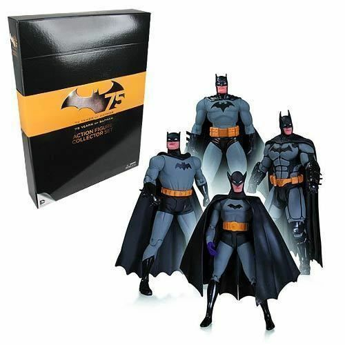 Batman Conjunto de 1 figuras de acción 75th Anniversary paquete de 4