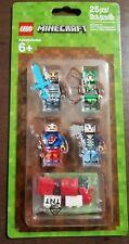 Lego Minecraft Skin 8 Pixelated Blue Jacket Minifigure 853609
