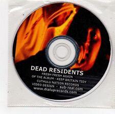 (FU564) Dead Residents, Fresh Fresh Again - DJ DVD