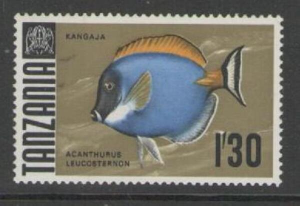 Capable Tanzanie Sg152 1967 Vie Marine 1s30 Neuf Sans Charnière Cadeau IdéAl Pour Toutes Les Occasions
