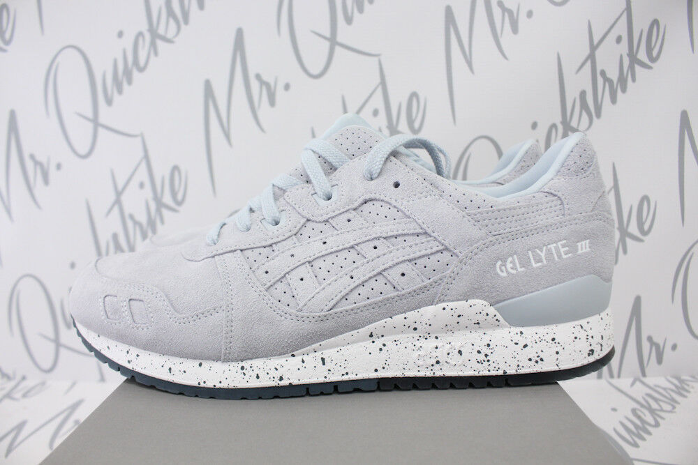 ASICS GEL LYTE III SZ 9 PLEIN AIR LIGHT GREY blanc EASTER PACK H803L 4343