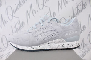 30e4294bc5228 ASICS GEL LYTE III SZ 9 PLEIN AIR LIGHT GREY WHITE EASTER PACK H803L ...